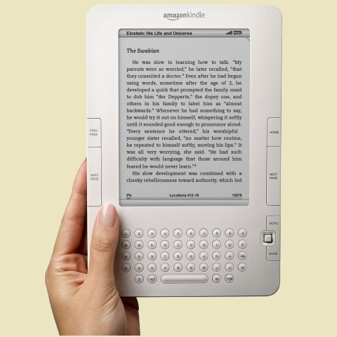 The Amazon Kindle 2 Ebook Reader