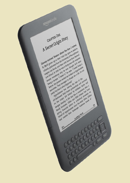 The new Amazon Kindle 3 wifi and 3g device